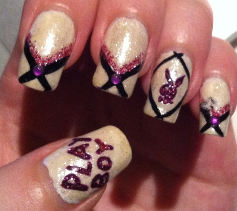 Nerdy nails!: December 2012