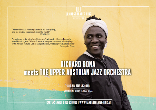 Richard Bona + UAJO Flyer