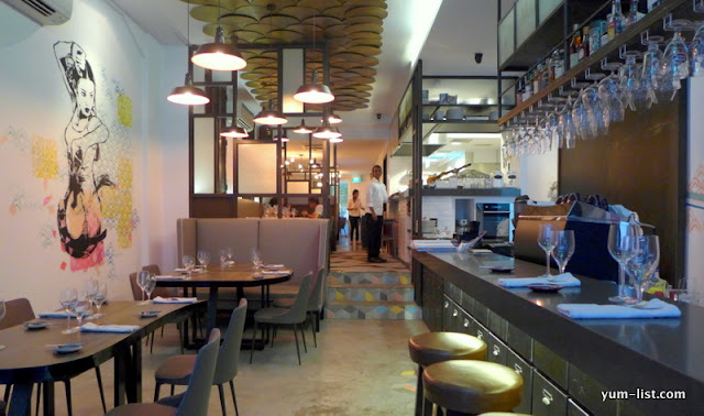 Bar-A-Thym, Casual French Restaurant, Singapore