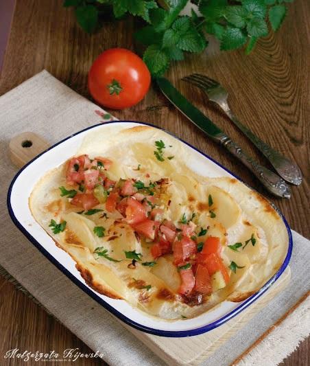 ziemniaki, pyry, zapiekanka ziemniaczana, na ostro, daylicooking, Małgorzata Kijowska
