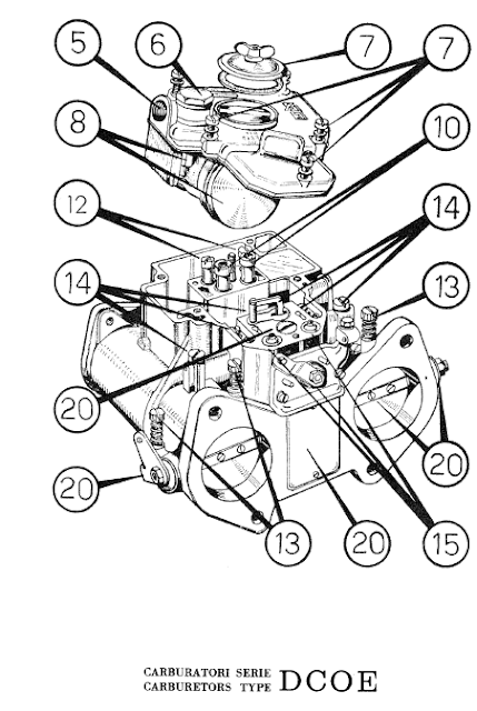 Ferrari 400: Service Manual Weber DCOE for Ferrari 400