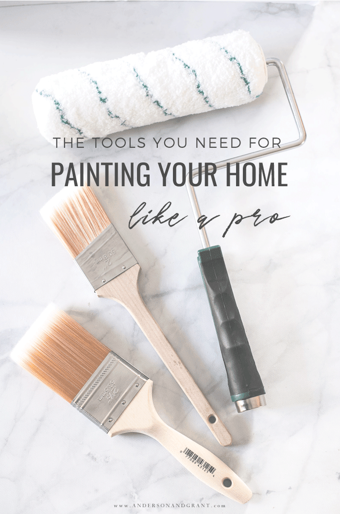 The Tools you need to paint your home