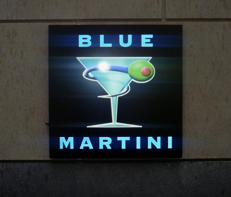 Bravern Apartments: Blue Martini, Bellevue, WA