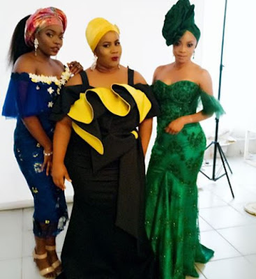 wp 1504207328070 - ENTERTAINMENT: Toke Makinwa Slays In Stunning Photos With Toyin Aimakhu, Bisola and Chigurl