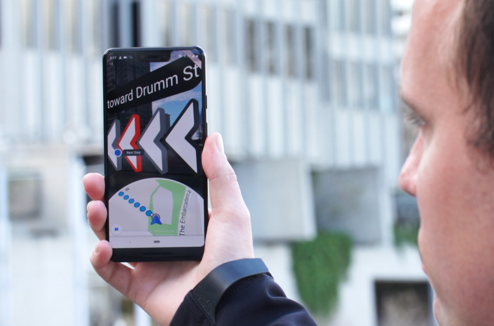 Google Maps AR Walking Directions Are Out On Android