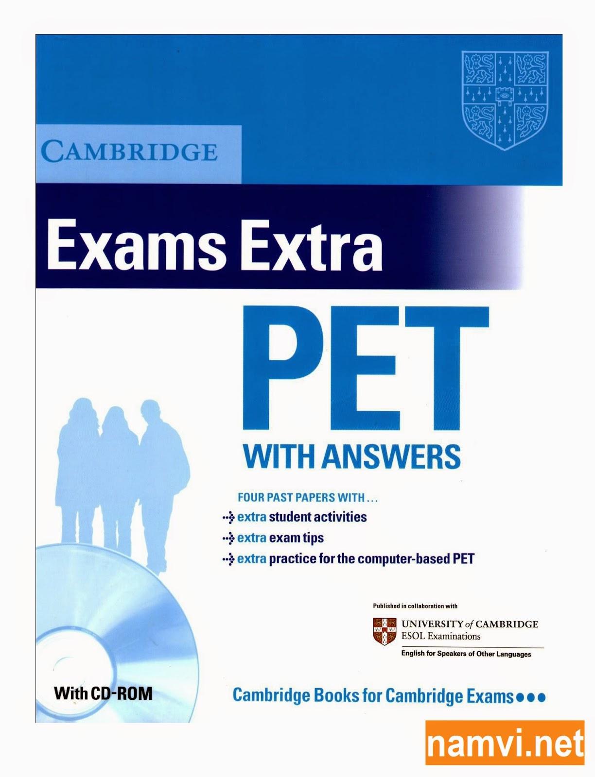 Cambridge Exams Extra PET