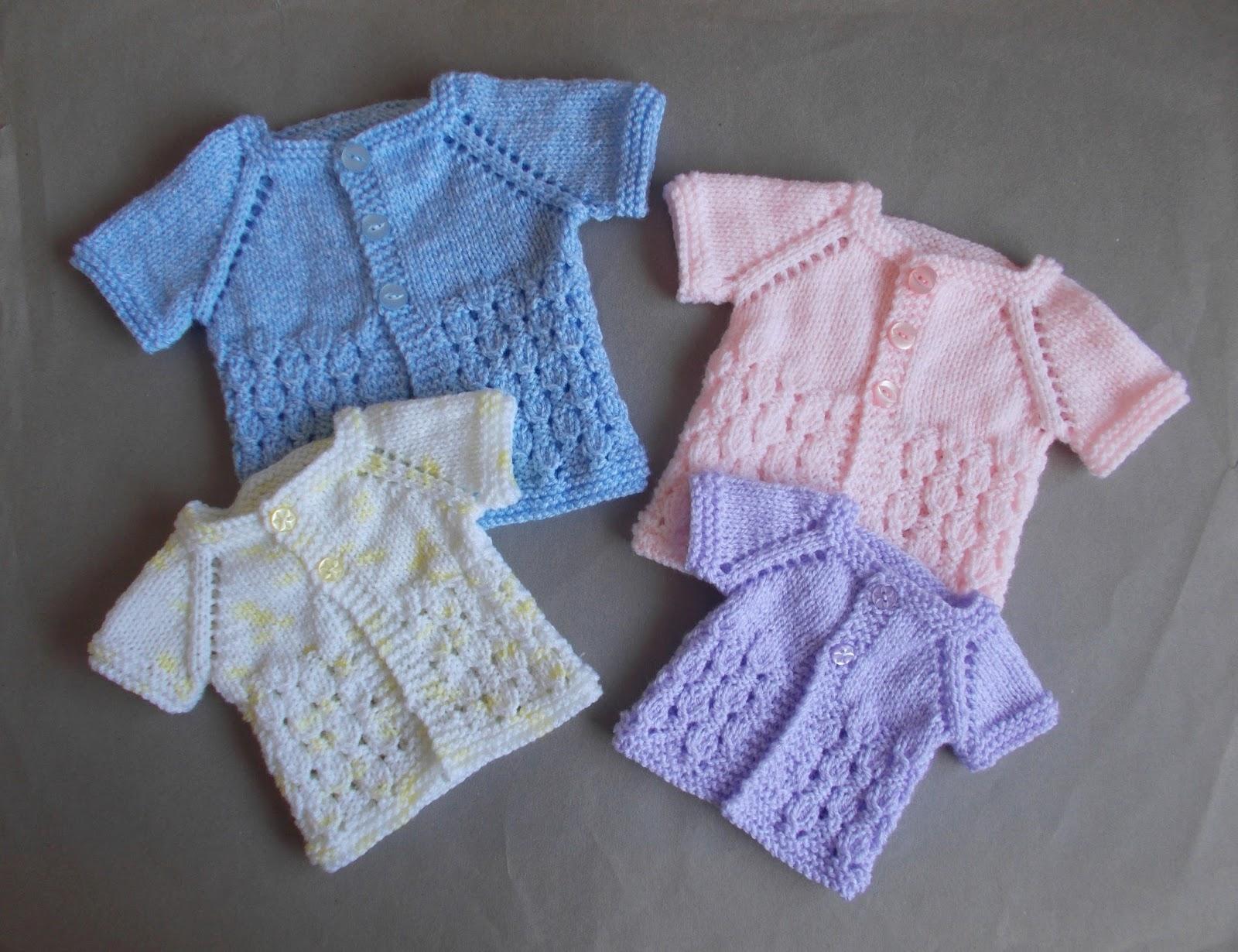Marianna s Lazy Daisy Days Dewdrop Baby Jacket Preemie & Newborn