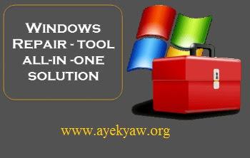 Windows System မွားယြင္းေနသည္မ်ားကိုေျဖ႐ွင္းေပးနိုင္တဲ့ - software
