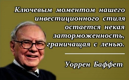 Инвестиции Уоррена Баффета