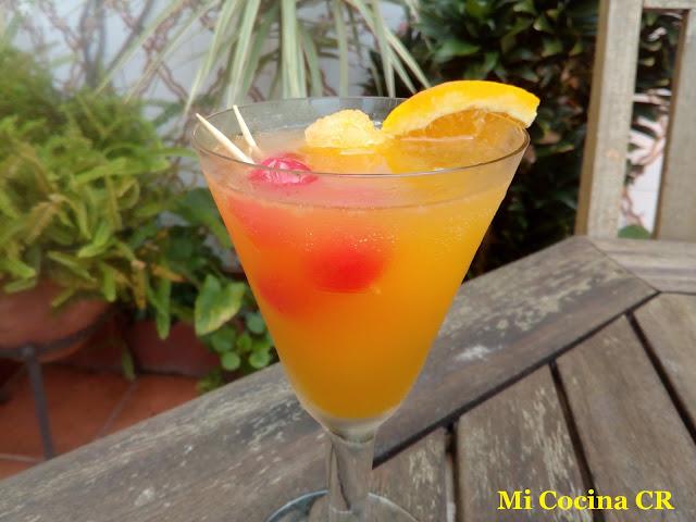 Sorbete De Naranja Con Vino Moscatel De Malaga (cóctel)