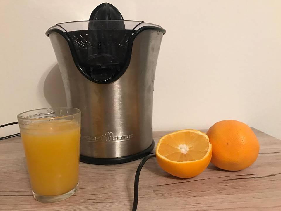 Wyciskarka do cytrusów Profi Cook,chcesz mieć domowy sok z pomaranczy?recenzja