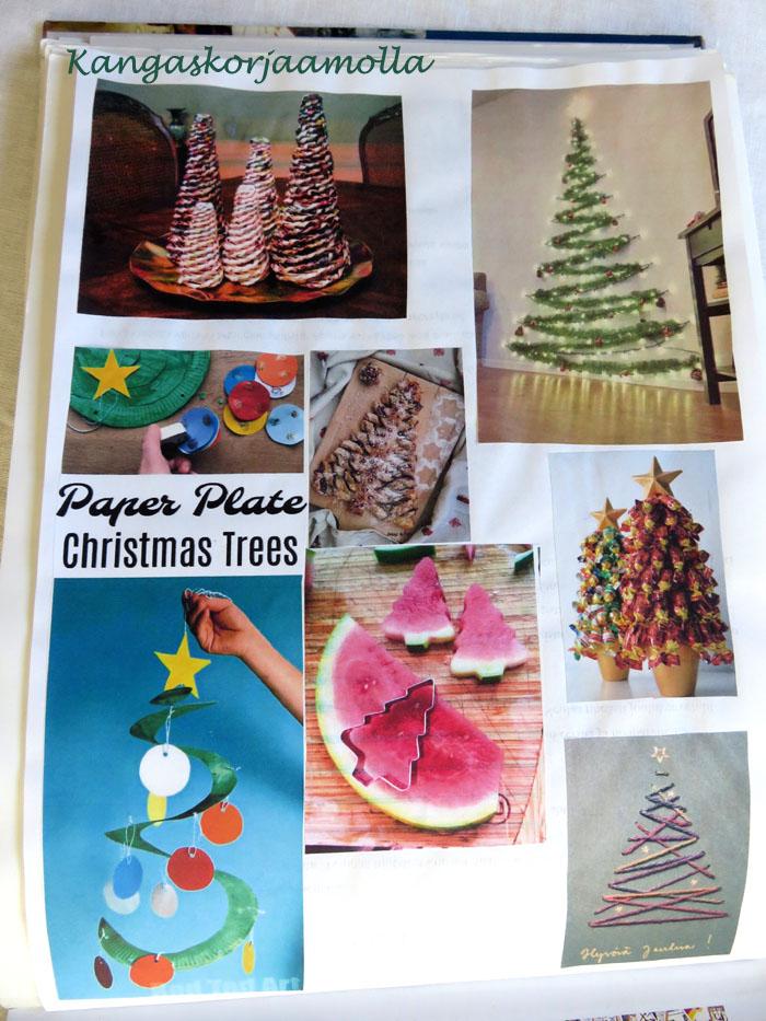 joulukalenteri ideat