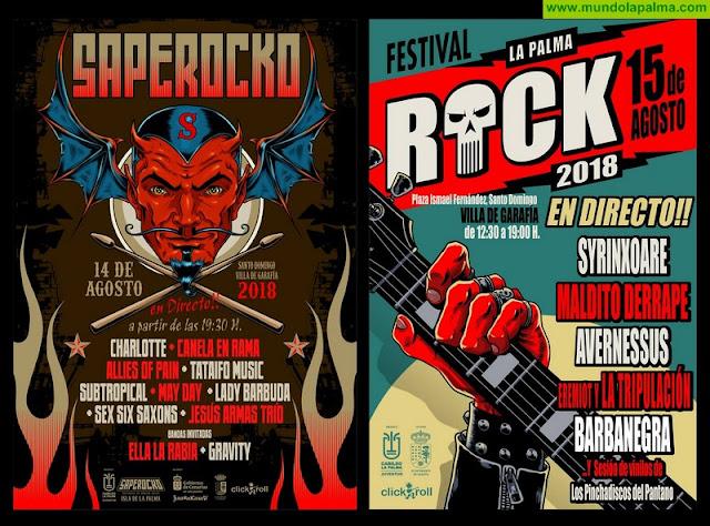 El Cabildo crea el festival 'La Palma Rock', que reúne en Villa de Garafía a los mejores grupos de la isla
