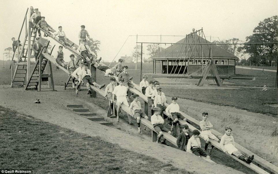 Britain S First Slide 1922 Vintage Everyday