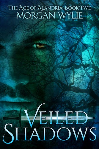 Veiled Shadows (The Age of Alandria: Book Two) - Morgan Wylie