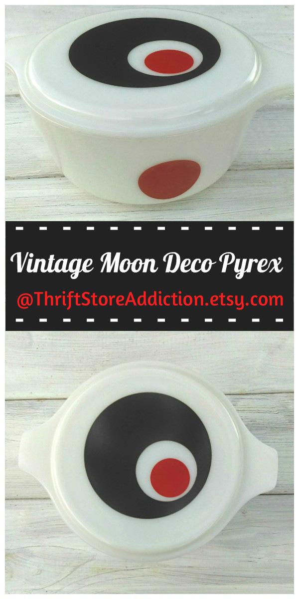 vintage Moon Deco Pyrex