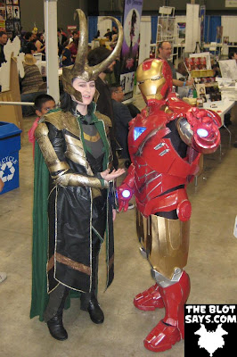 Wizard World Austin Comic-Con 2012 - Loki & Iron Man
