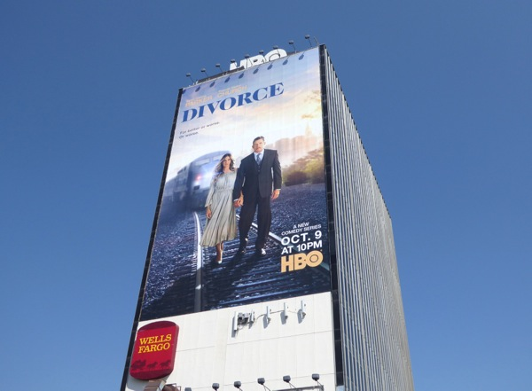 Giant Divorce HBO series billboard