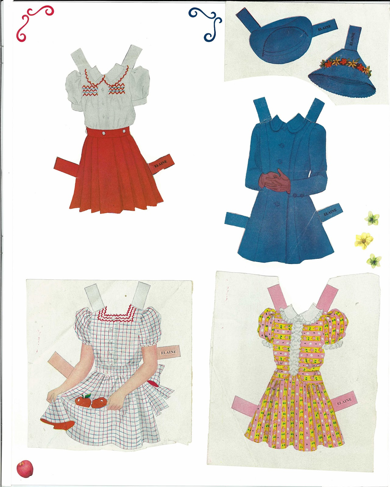 Miss Missy Paper Dolls: Joan and Elaine