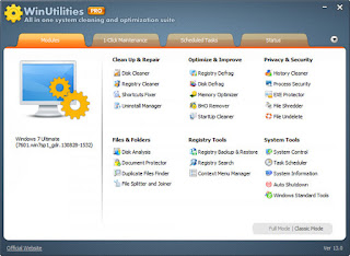 WinUtilities Professional Edition 13.15 Multilingual Full Patch And Keygen