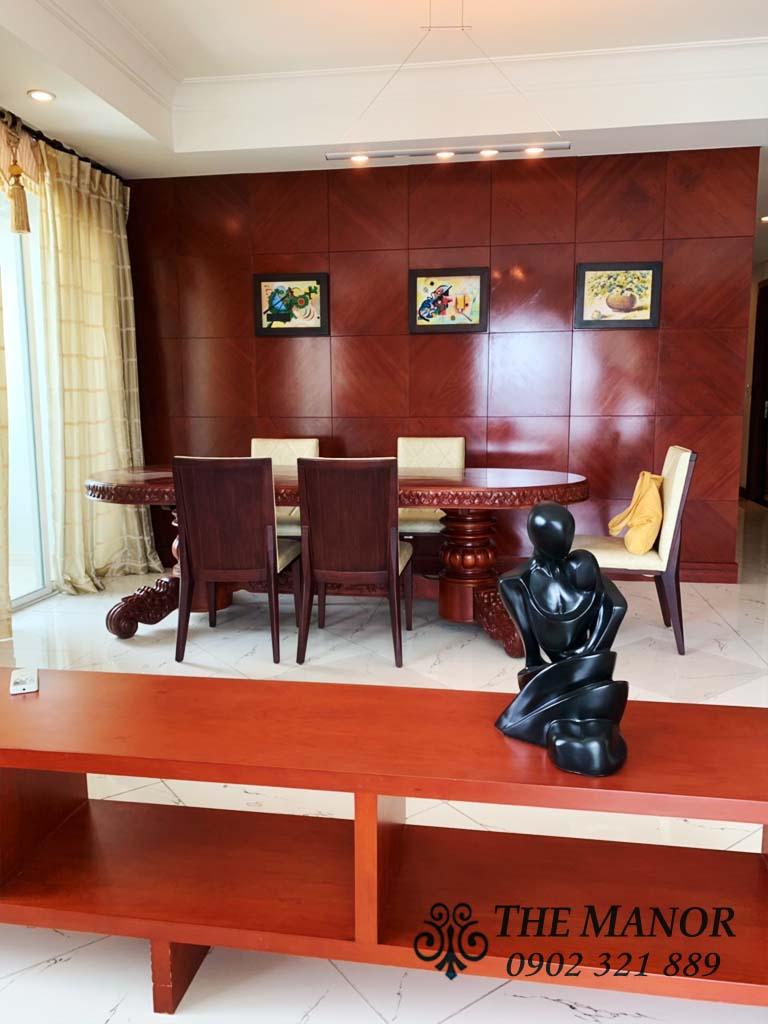 Bán căn hộ 3 phòng ngủ Manor quận Bình Thạnh 160m2 tầng cao giá 6,6 tỷ - 4