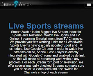 Stream2Watch - Live sports Stream