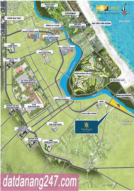 liên kết vùng dự án The Royal River