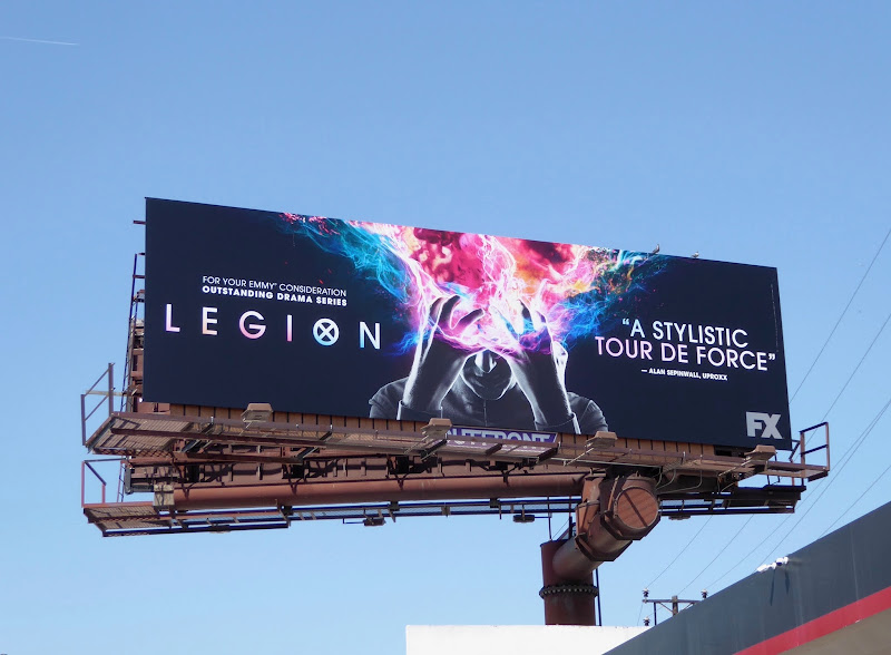 Legion season 1 Emmy FYC billboard