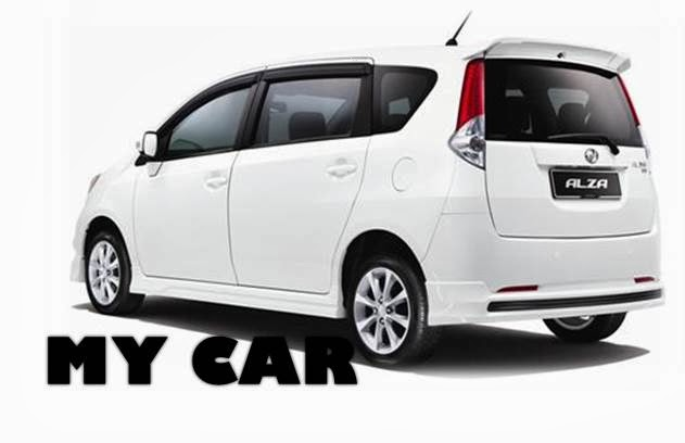 Alza Is My Car: Review About Perodua Alza Advanced Version