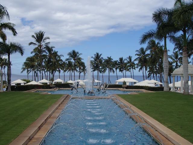 Grand Wailea fountains