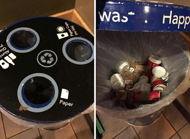 Đây là cách Starbucks giúp khách hàng phân loại rác để bảo vệ môi trường...