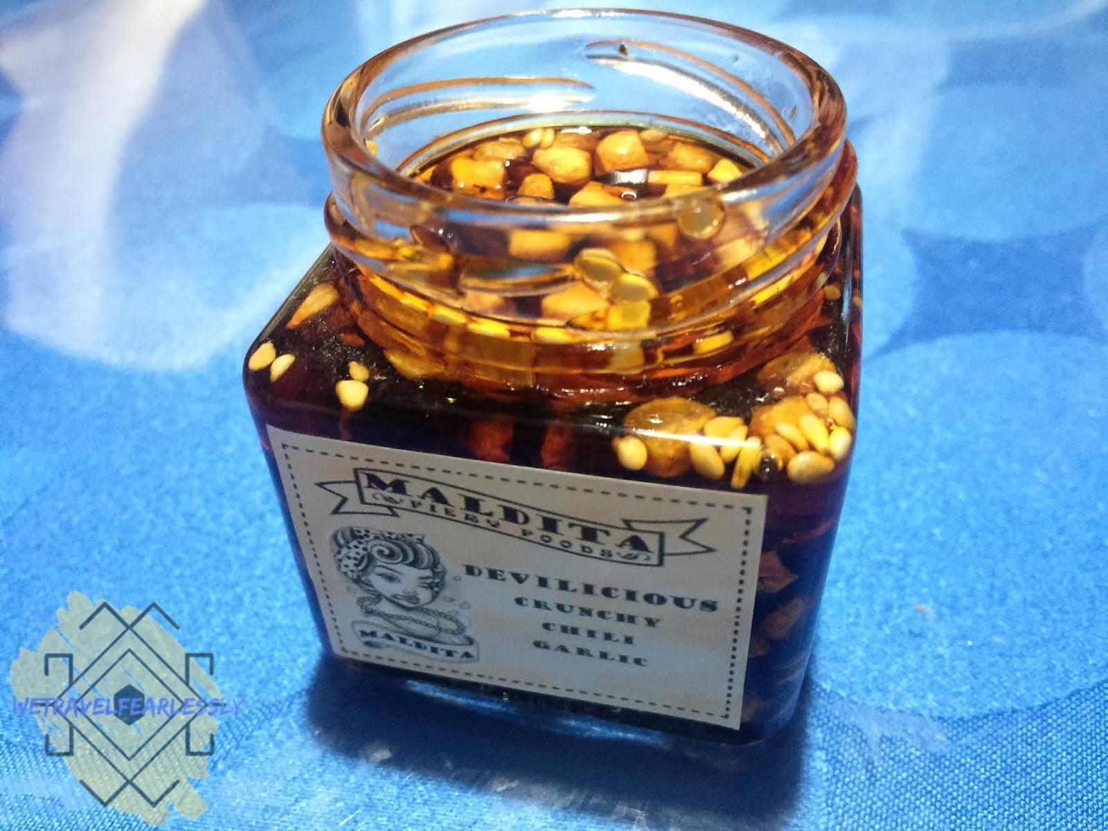Maldita Fiery Foods - Devilicious Crunchy Chili Garlic