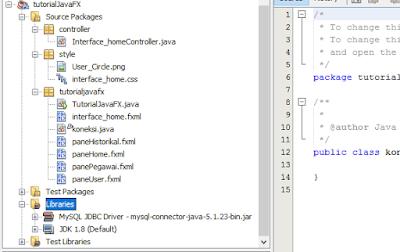 Cara Membuat Koneksi Database di JavaFX 3