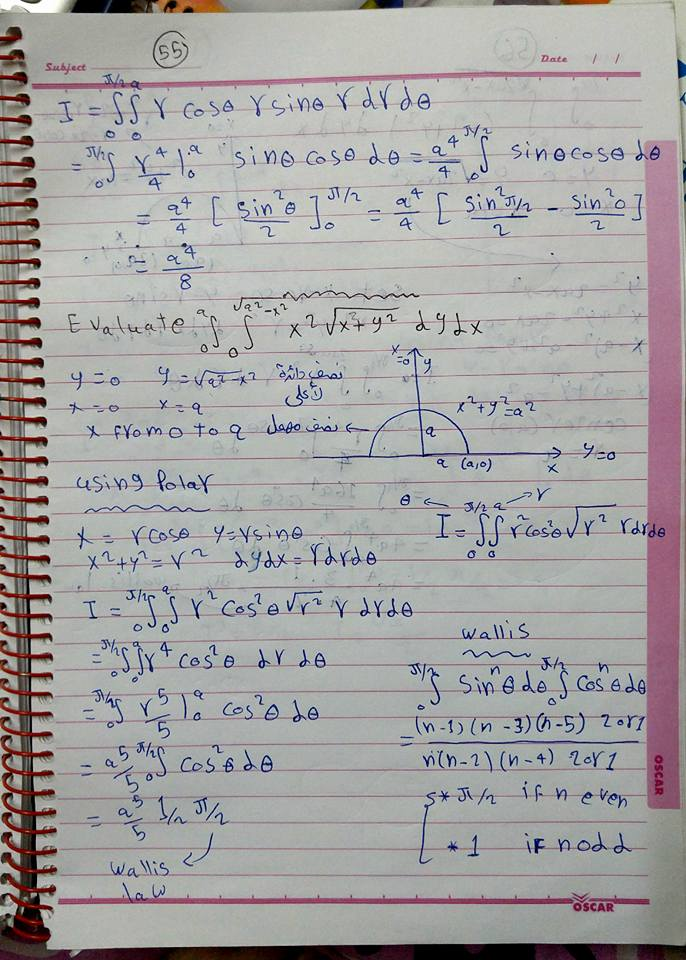double integral problems