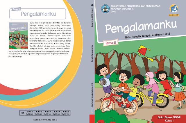Buku K13 SD kelas 1 Revisi 2017 Semester II