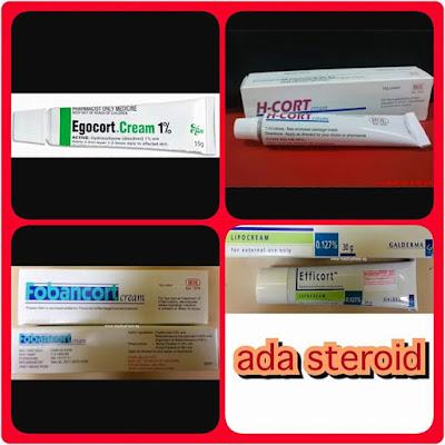 bahaya krim steroid