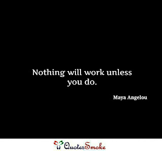Inspirational Quote by Maya Angelou
