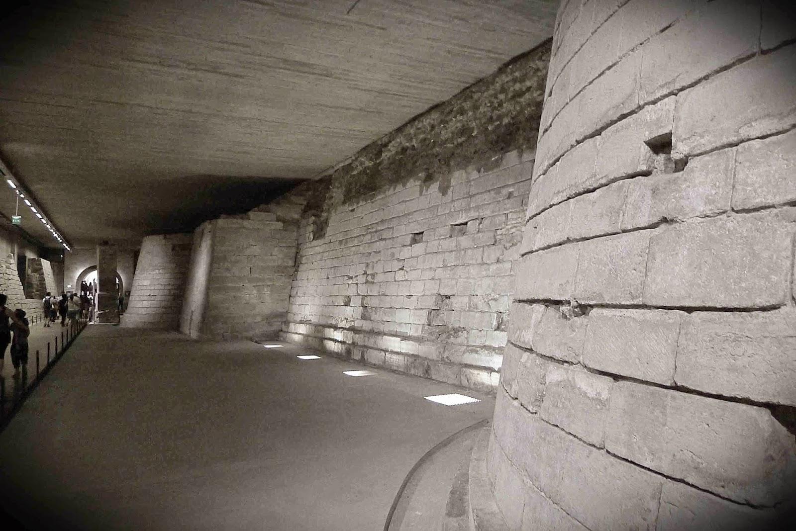 Louvre Moat