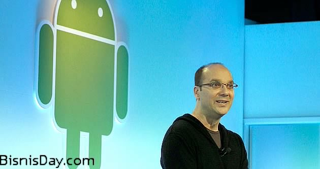 andy rubin dan android