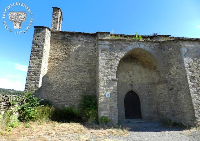 SIRAN (34) - Chapelle Notre-Dame de Centeilles (XIIIe-XIVe siècles)