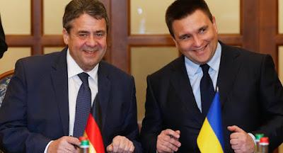 Главы МИД Германии и Украины обсудили ситуацию на Донбассе и в Крыму