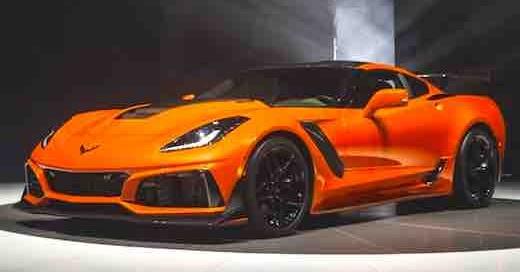 2019 Chevrolet Corvette ZR1 Top Speed - Cars Authority