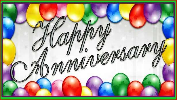 Best wedding Anniversary Photos Images and Quotes -happy anniversary balloon images