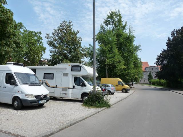Foto del Parking para autocaravanas en el centro de Liubliana y gratis. Ruta en autocaravana por Eslovenia | caravaneros.com