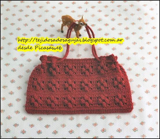 Patron Bolso Ganchillo Stunning Fantstico Crochet Patrn De La Bolsa