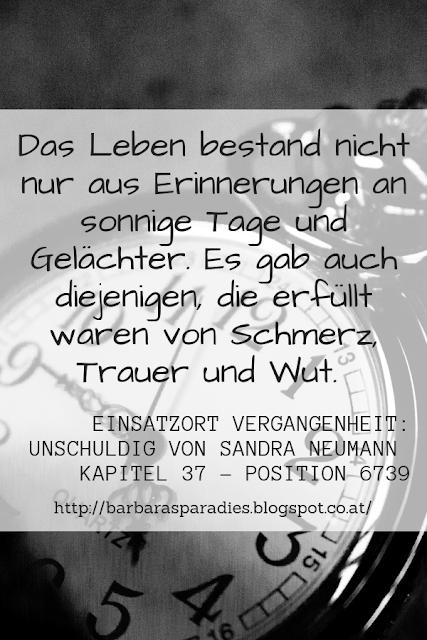 Buchrezension #231 Einsatzort Vergangenheit: Unschuldig von Sandra Neumann