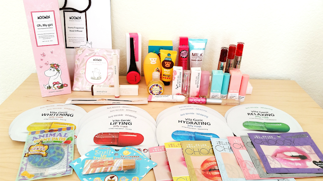 Korean Beauty Haul via KoreanBuddy