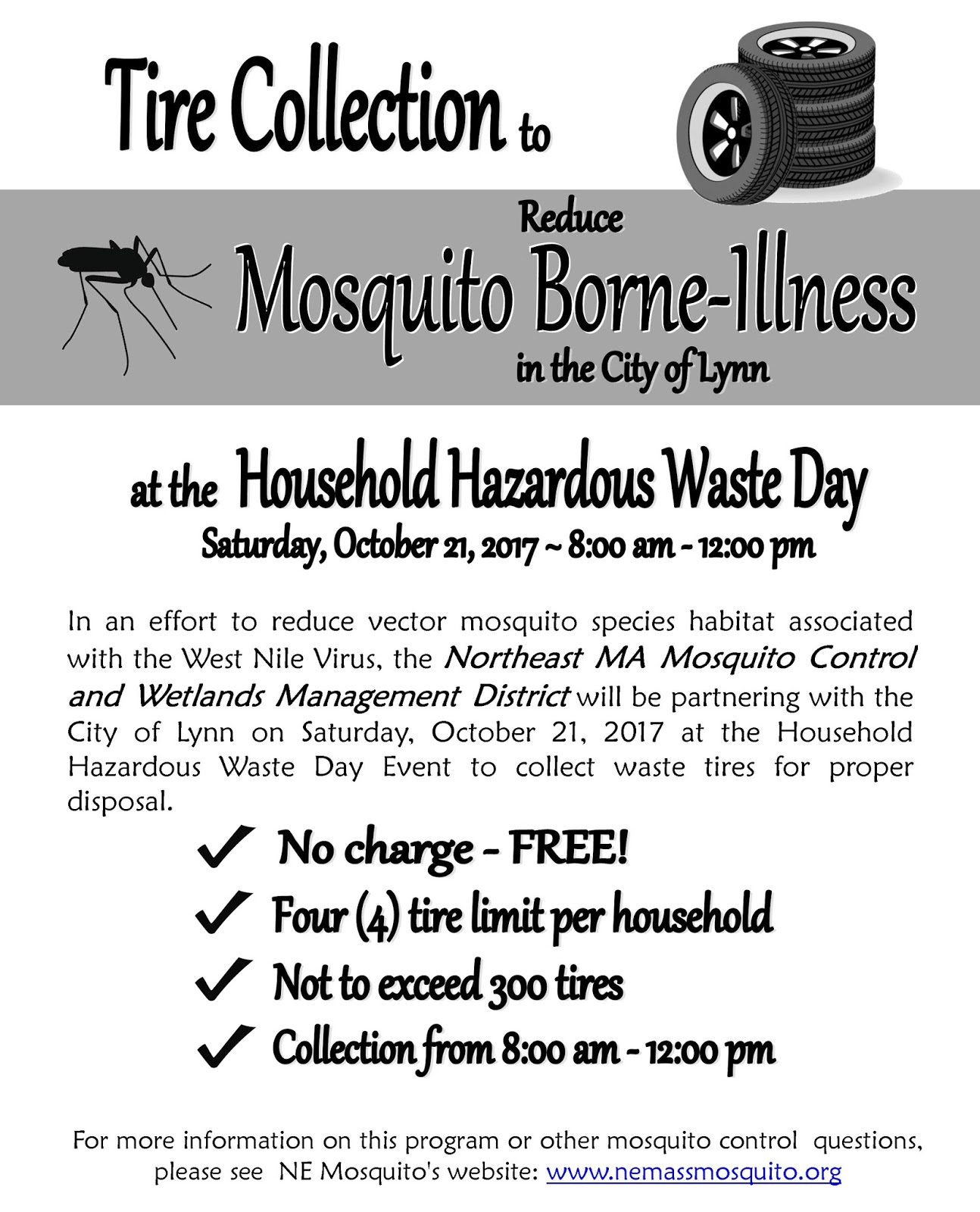 trashtalkin u0027lynn get rid of mosquito breeding old tires