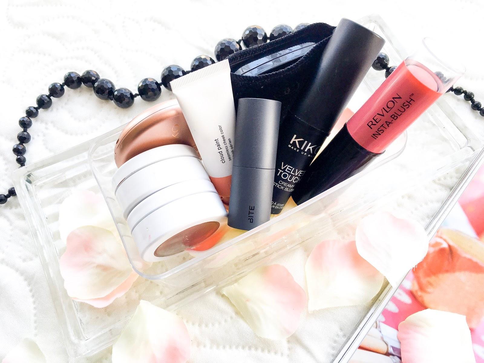 makeup collection series, ummbaby makeup collection series, cream blushers, makeup storage, ferrero rocher makeup storage boxes
