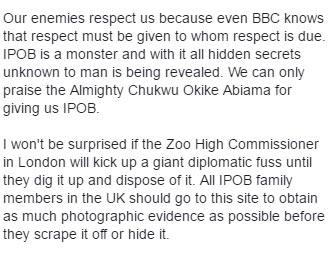 Video: BBC recognizes Biafra Republic, creates monument at London headquarters